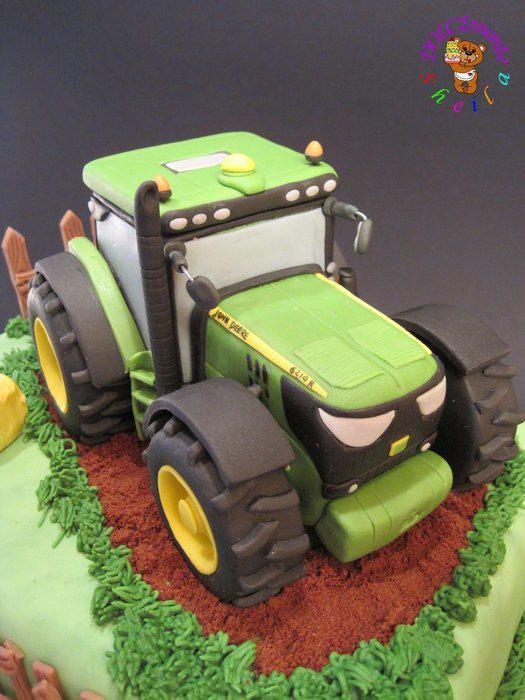 Geburtstagskuchen Traktor  Traktor