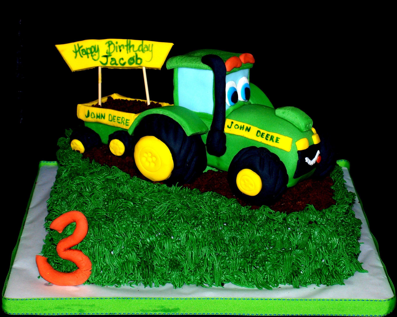 Geburtstagskuchen Traktor  Tractor Cake Tractor made of RKT