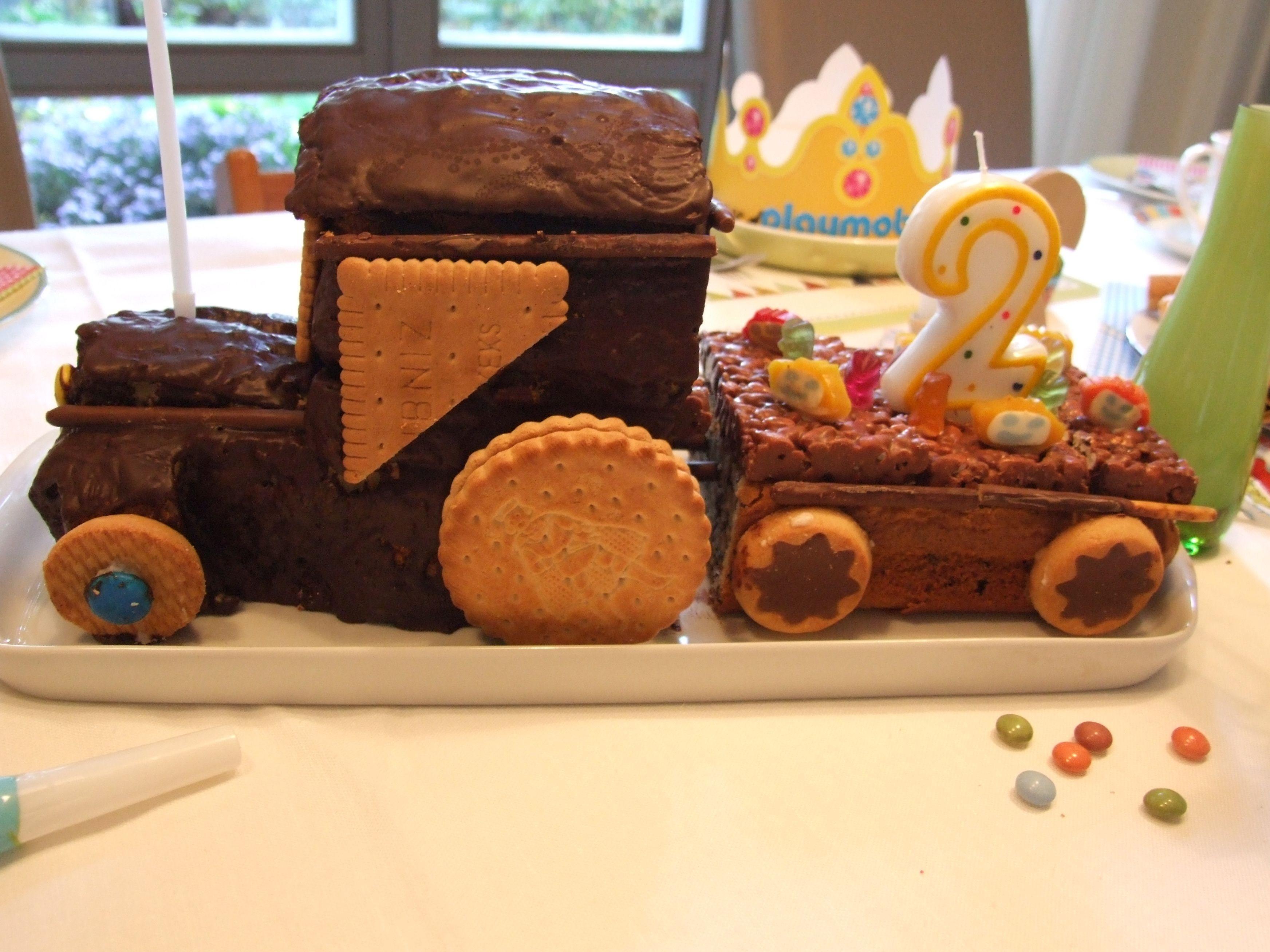 Geburtstagskuchen Traktor  Kindergeburtstag Traktor Geburtstagskuchen Zugkuchen