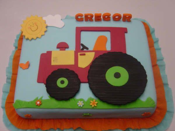 Geburtstagskuchen Traktor  Pin von Wirtina auf Cake dreams