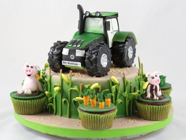 Geburtstagskuchen Traktor  Die besten 25 Traktor kuchen Ideen auf Pinterest
