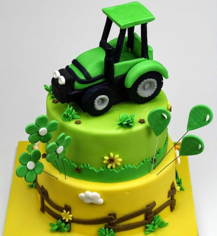 Geburtstagskuchen Traktor  Geburtstagskuchen für Geburtstagskinder 40 Motiv und