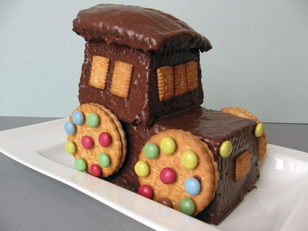 Geburtstagskuchen Traktor  Traktor Kuchen Rezept und Bild