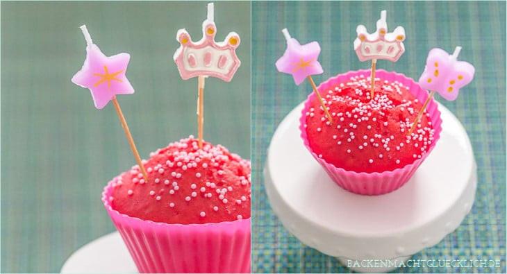 Geburtstagskuchen Vegan  Fantakuchen Muffins