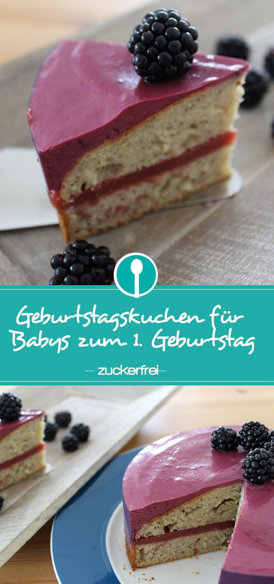 Geburtstagskuchen Vegan  Geburtstagskuchen zum 1 Geburtstag ohne Zucker