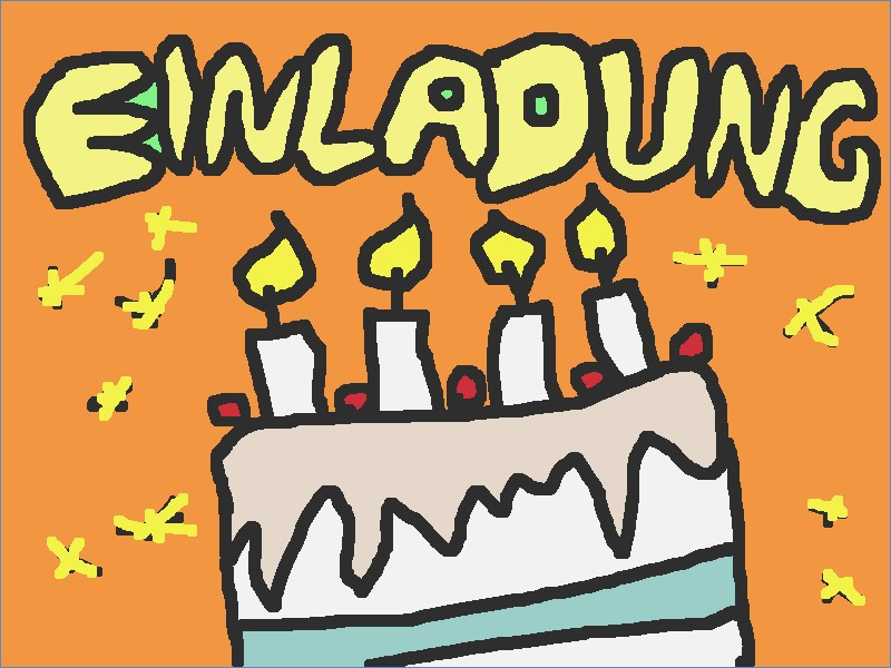 Geburtstagsparty Clipart  Cliparts Geburtstag Einladung – travelslow