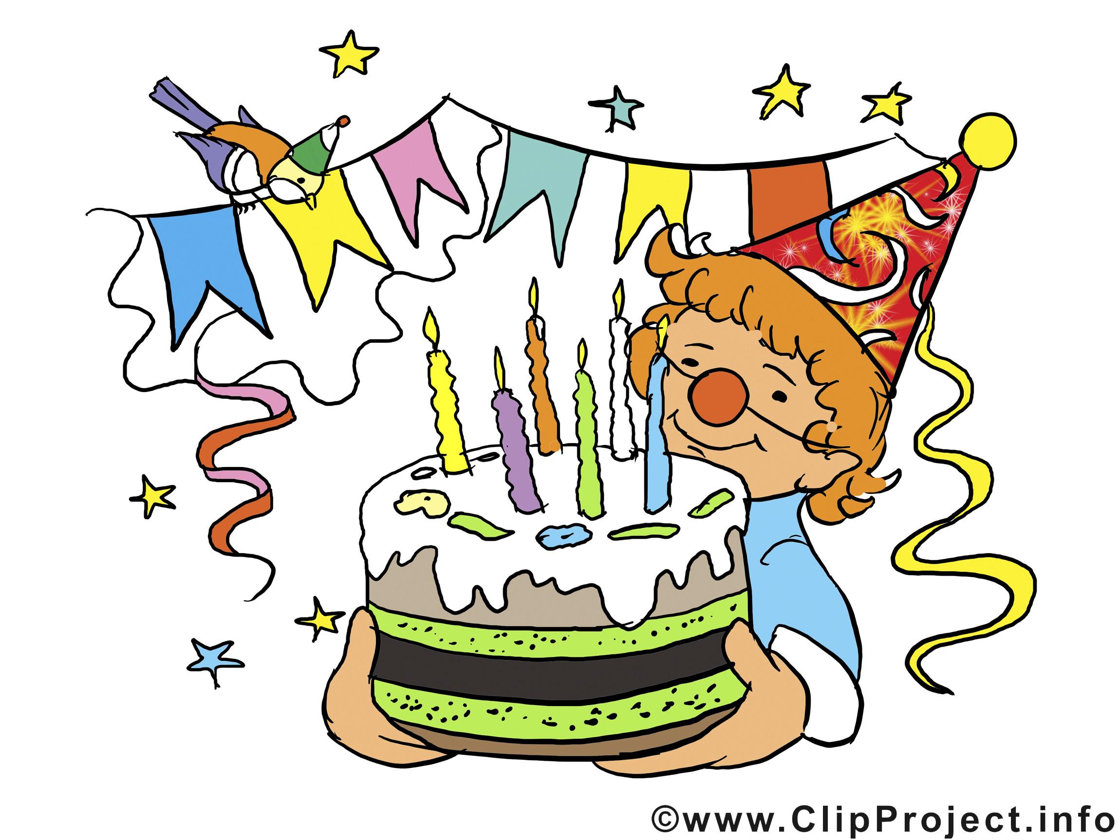 Geburtstagsparty Clipart  Geburtstagsparty Einladung