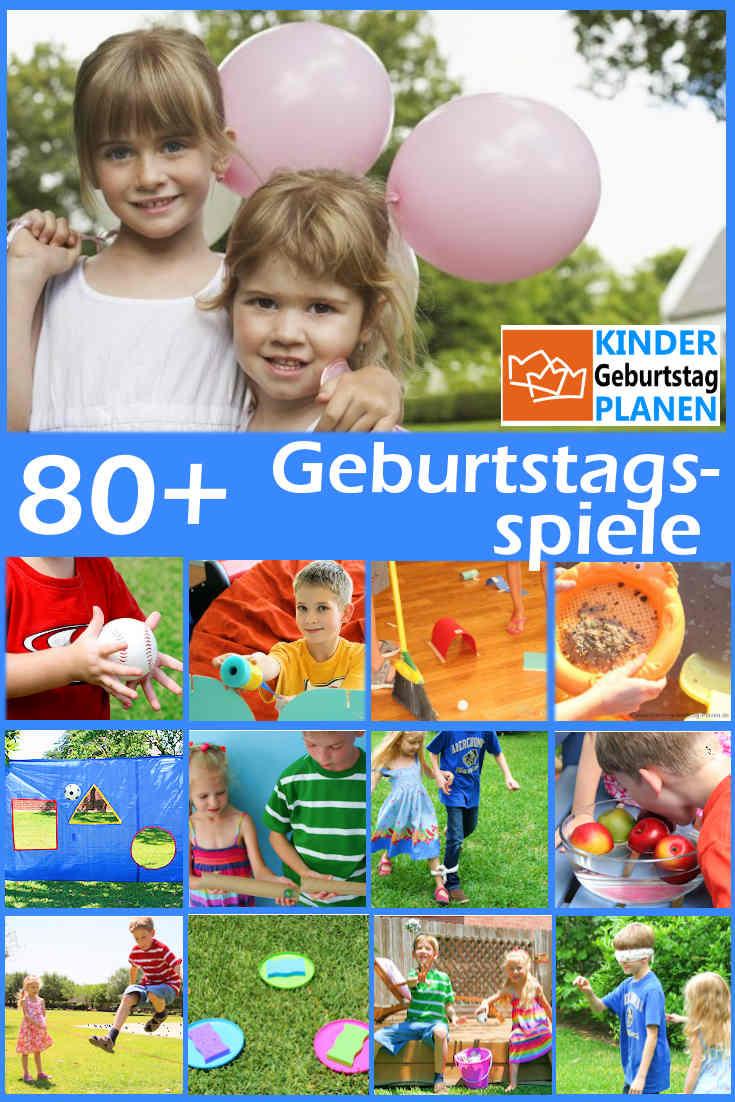 Geburtstagsparty Spiele  80 beliebte Geburtstagsspiele