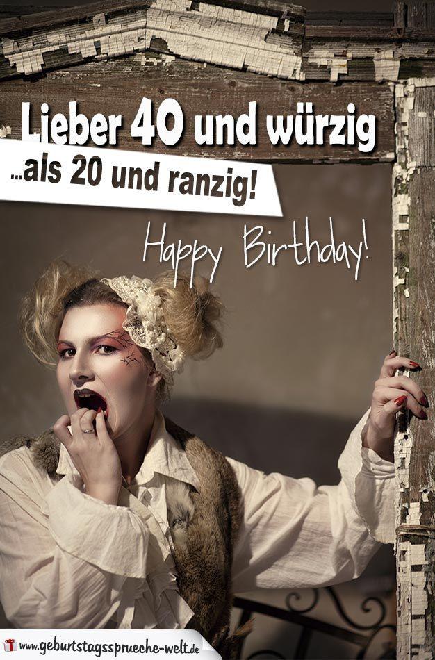 Geburtstagssprüche 20 Frech  Pin von Sabine auf Geburtstagssprüche