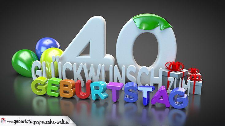 Geburtstagssprüche 40  Die 25 besten Ideen zu Geburtstagssprüche 40 auf Pinterest