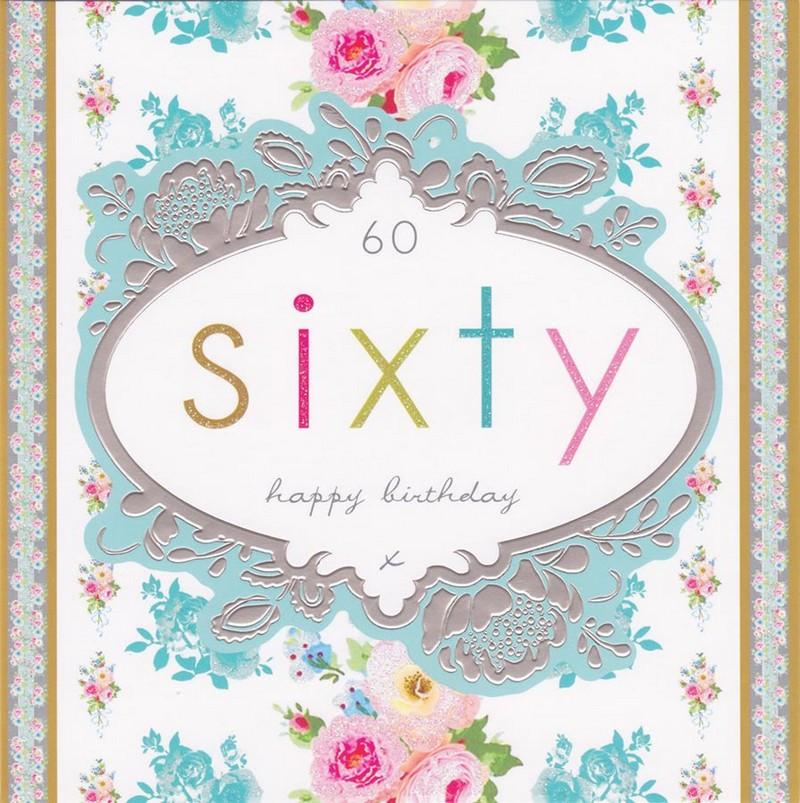 Geburtstagssprüche Für Frauen 60  Einladungskarte zum 60 Geburtstag 45 kreative Ideen