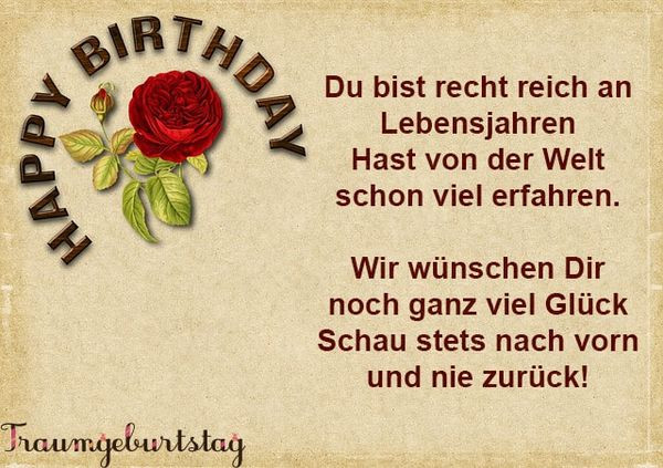 Geburtstagssprüche Für Frauen 80  Geburtstagswünsche für Frauen Lustige Sprüche zum