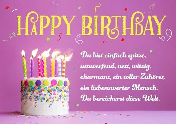 Geburtstagssprüche Für Freund  Geburtstagswünsche Für Die Freundin geburtstagssprüche