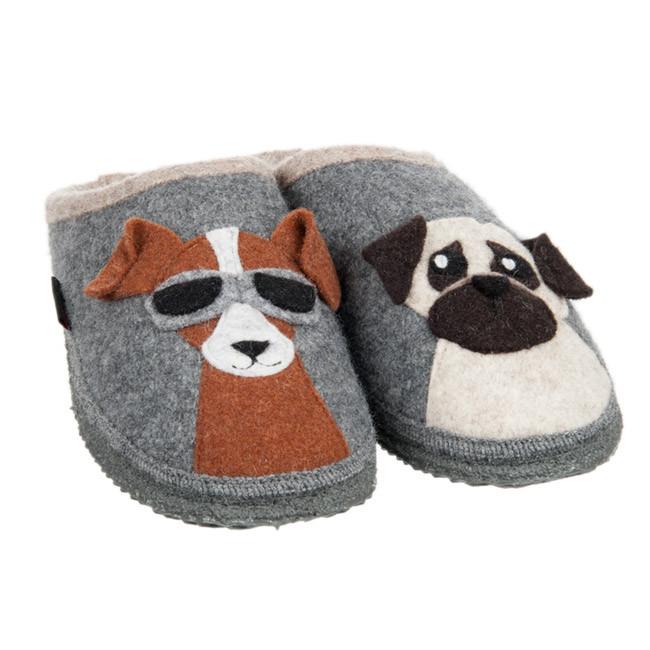 Geburtstagssprüche Für Hundeliebhaber  Pantoffeln für Hunde Liebhaber Nehms Adults von GIESSWEIN