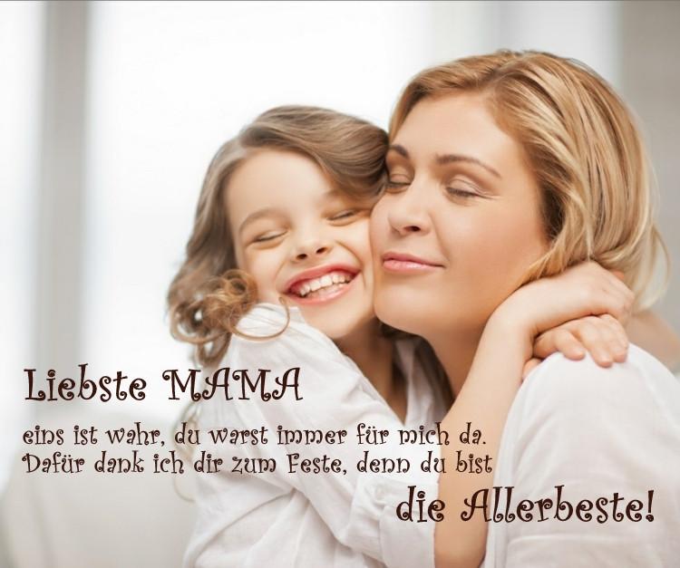 Geburtstagssprüche Für Mama Von Tochter  20 Muttertagssprüche und Gedichte für beste Mama