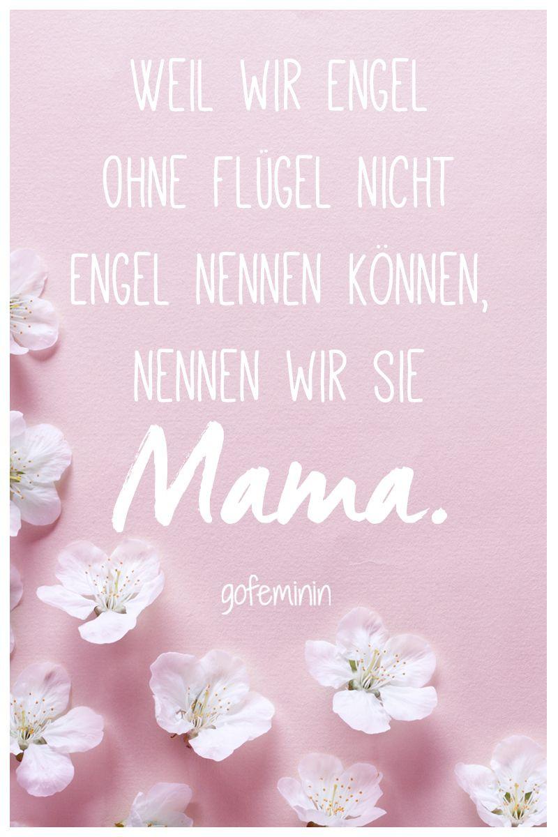 Geburtstagssprüche Für Mama Von Tochter  Danke Mama Die schönsten Sprüche zum Muttertag