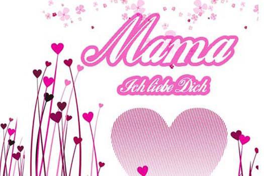Geburtstagssprüche Für Mama Von Tochter  Muttertag Gb Bilder Alles Gute Gästebuch Bilder für