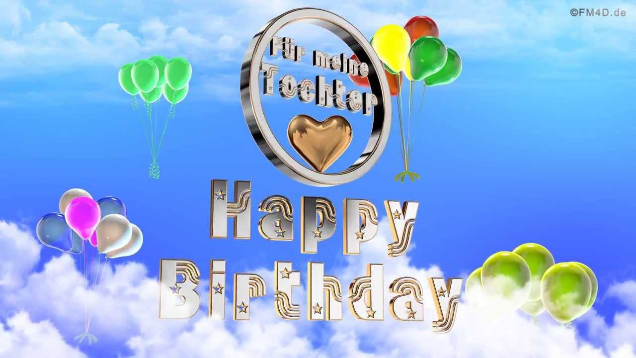 Geburtstagssprüche Für Tochter  Stop Tinnitus Geburtstagswünsche Tochter