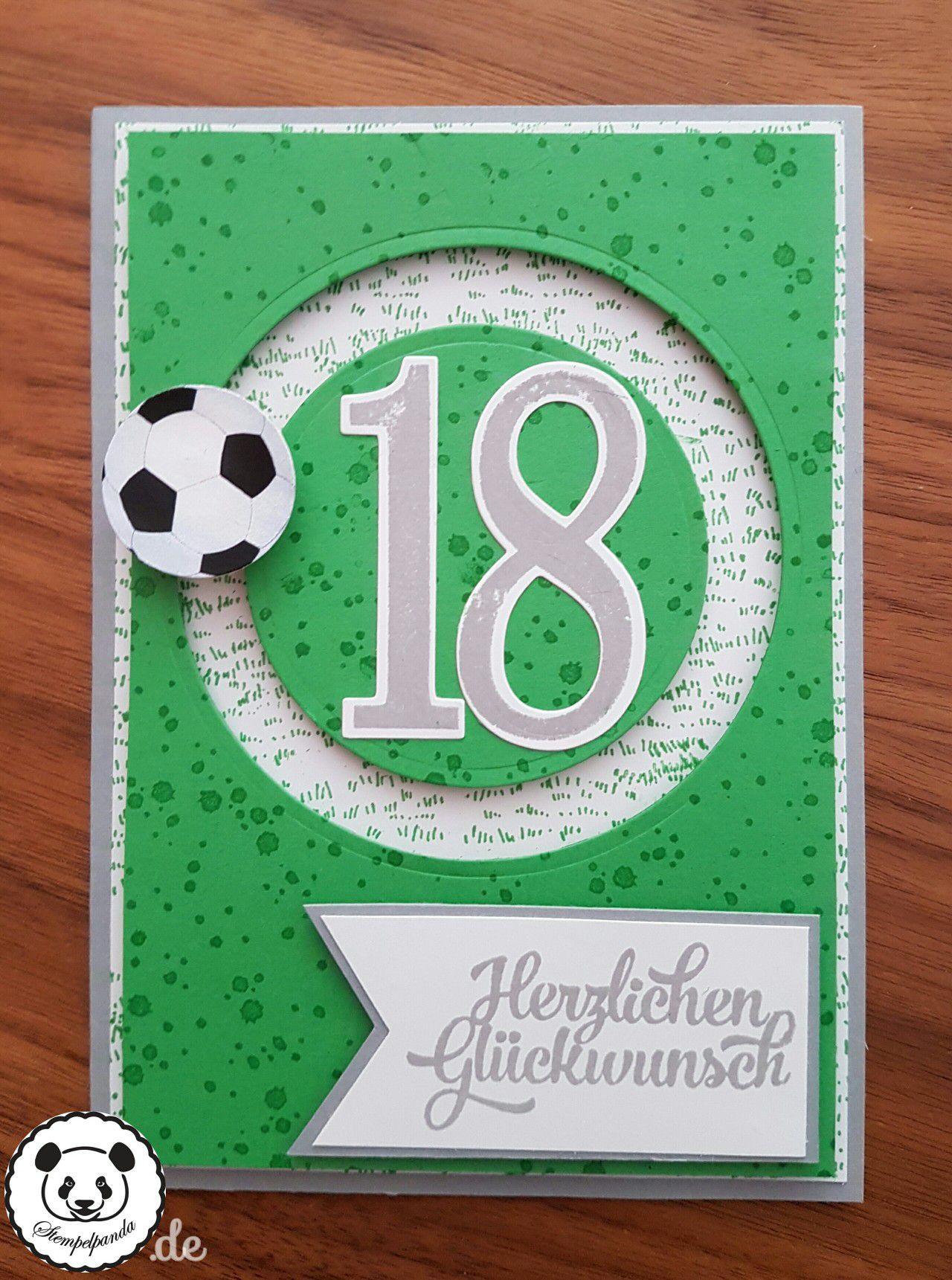 Geburtstagssprüche Fußball  Fussball Geburtstagskarte