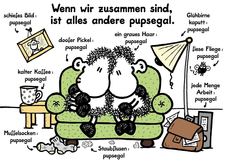"""Geburtstagssprüche Sheepworld  sheepworld """"Ohne Dich ist alles doof """""""