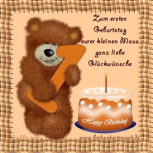 Geburtstagssprüche Zum 1. Geburtstag  Wünsche Zum Geburtstag Ein Jahr Stmichael