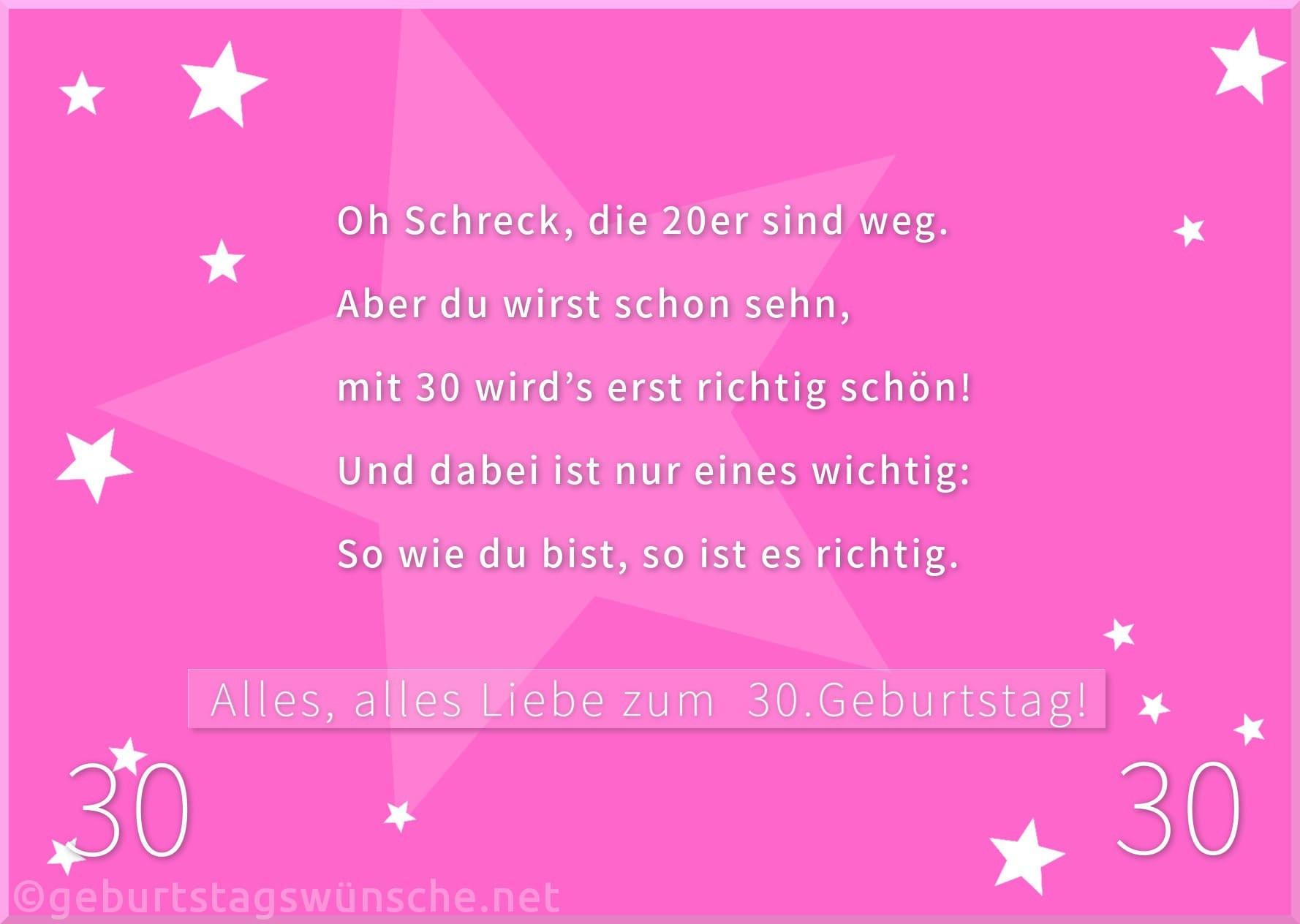 Geburtstagssprüche Zum 30 Frau  bilder zum 30 geburtstag frau droitshumainsfo
