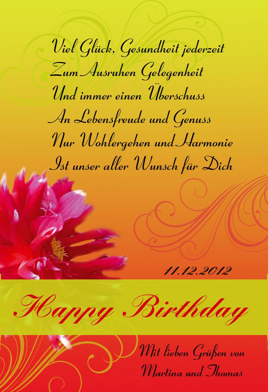 Geburtstagssprüche Zum 40.  Geburtstagsspruch Natur
