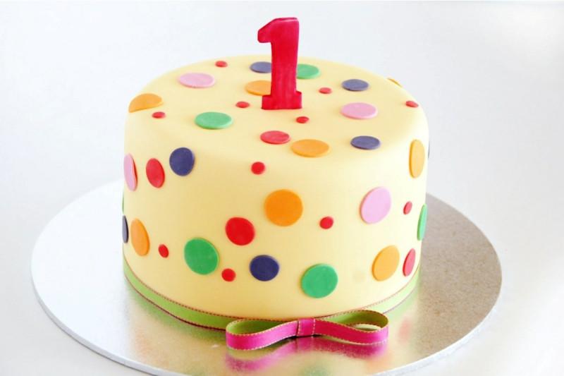 Geburtstagstorte 1 Geburtstag  101 wunderschöne Ideen für eine originelle