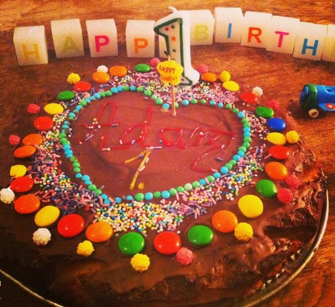 Geburtstagstorte 1 Geburtstag  Kinder Kuchen Rezepte 1 Geburtstag