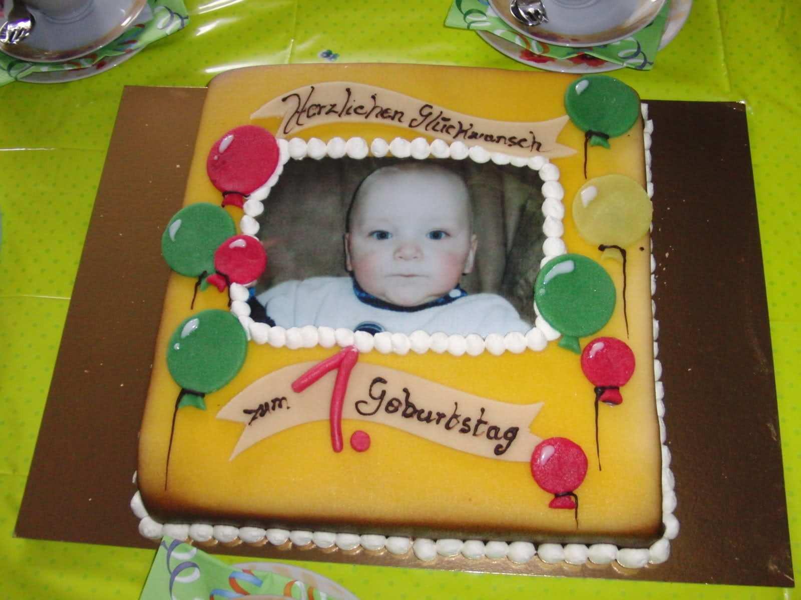 Geburtstagstorte 1 Jahr  Geburtstagstorte 1 Jahr Junge Geburtstagstorte