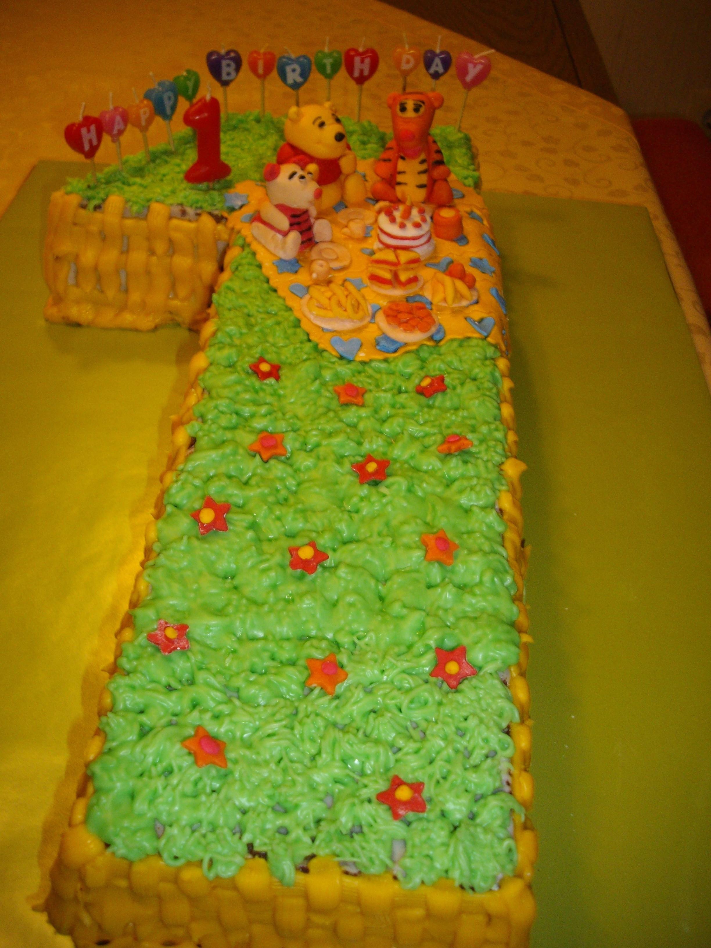 Geburtstagstorte 1 Jahr  Geburtstagstorte 1 Jahr Rezept Geburtstagstorte