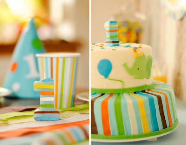 Geburtstagstorte 1 Jahr Junge  Geburtstagskuchen 1 Jahr Junge Geburtstagstorte