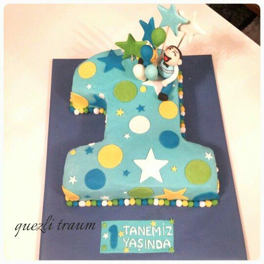 Geburtstagstorte 1 Jahr Junge  Die besten 25 Geburtstagstorte 1 Jahr Ideen auf Pinterest