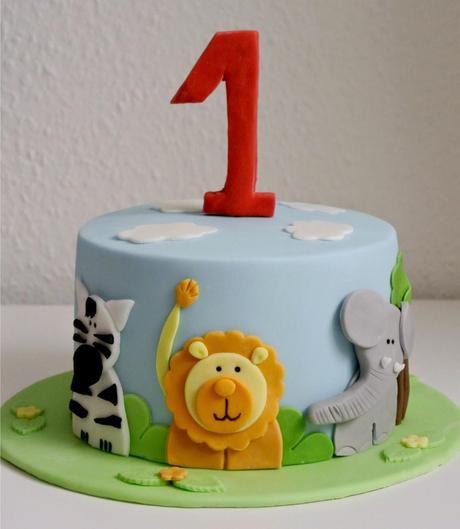 Geburtstagstorte 1 Jahr Junge  Geburtstagstorte für 1 Geburtstag