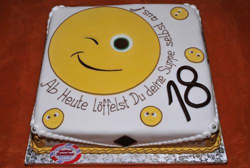 Geburtstagstorte 18 Geburtstag  Geburstag kuchen 18 – Appetitlich Foto Blog für Sie