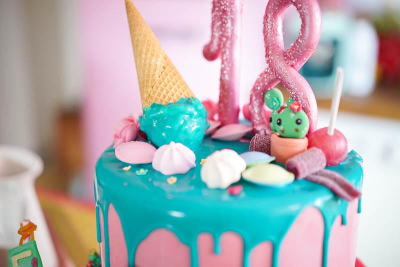 Geburtstagstorte 18 Geburtstag  Sallys Rezepte 18th Birthday Cake Geburtstagstorte zum