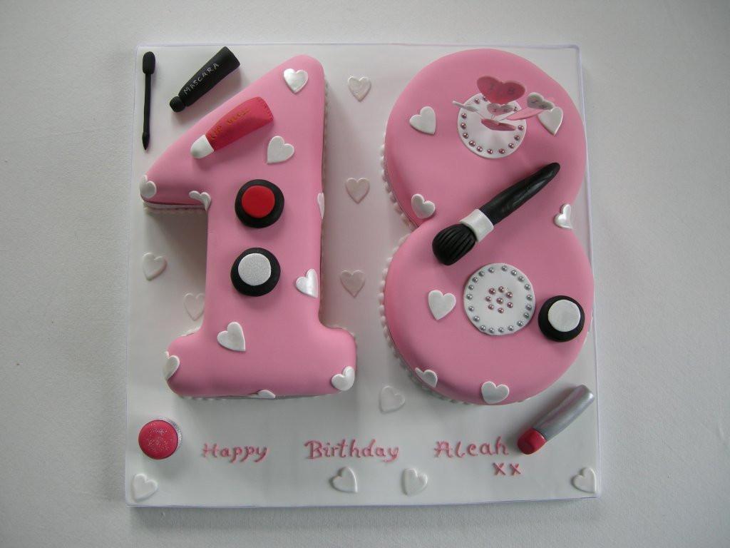 Geburtstagstorte 18 Geburtstag  Torte 18 Geburtstag Rezept Geburtstagstorte