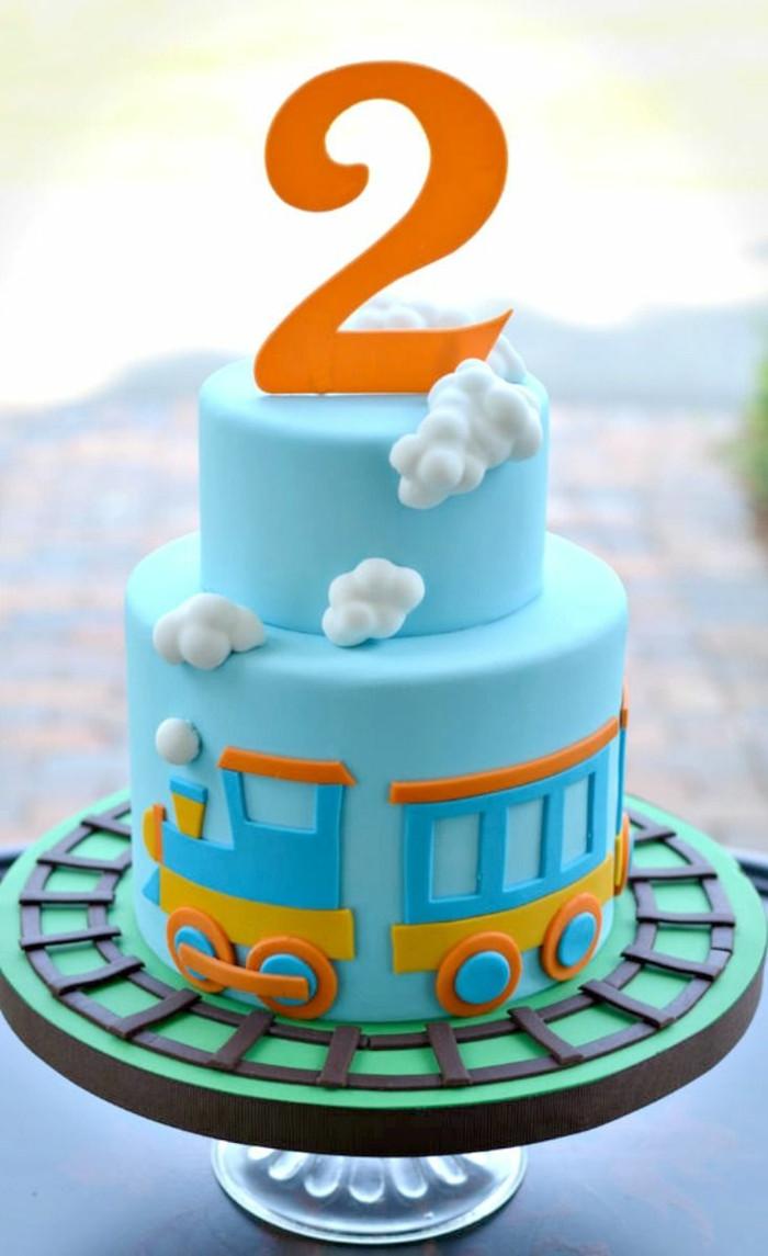 Geburtstagstorte 2 Jahre  Idées de gâteau d anniversaire pour un enfant
