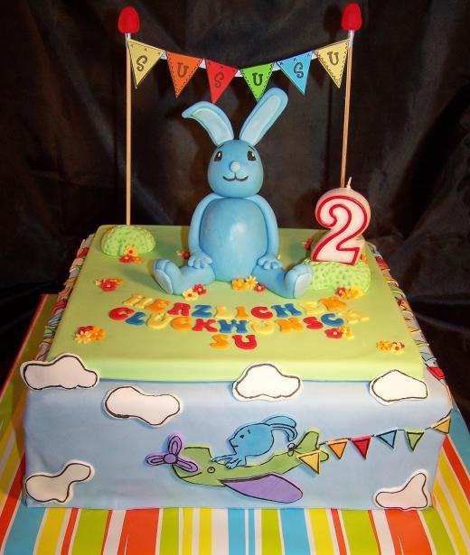 Geburtstagstorte 2 Jahre  2 Geburtstag