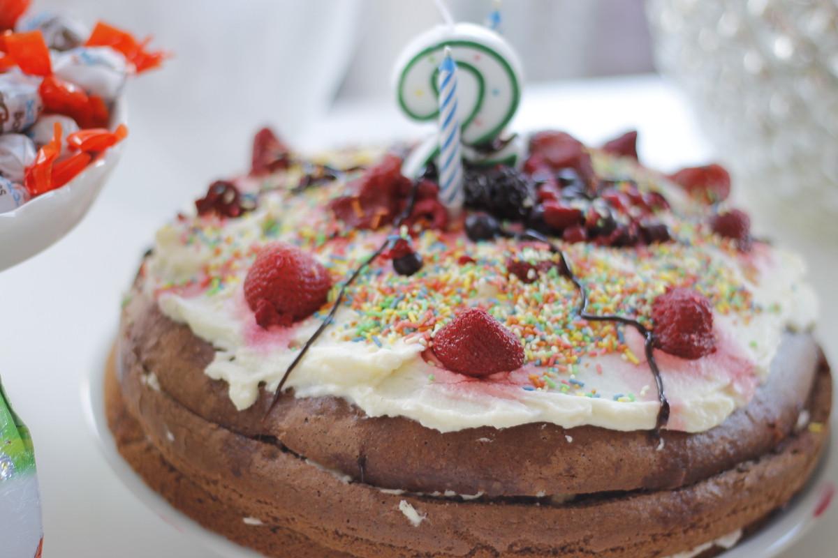 Geburtstagstorte 2 Jahre  Moderiamia