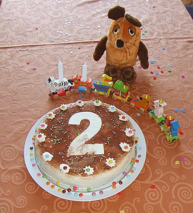 Geburtstagstorte 2 Jahre  geburtstagstorte für kinder 2 jahre Geburtstagstorten