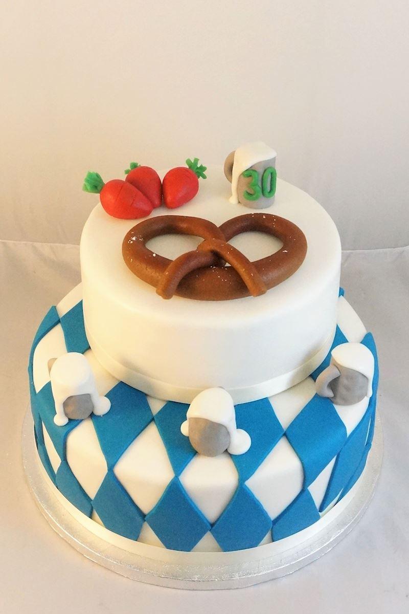 Geburtstagstorte  Individuell verzierte Geburtstagstorte in München und