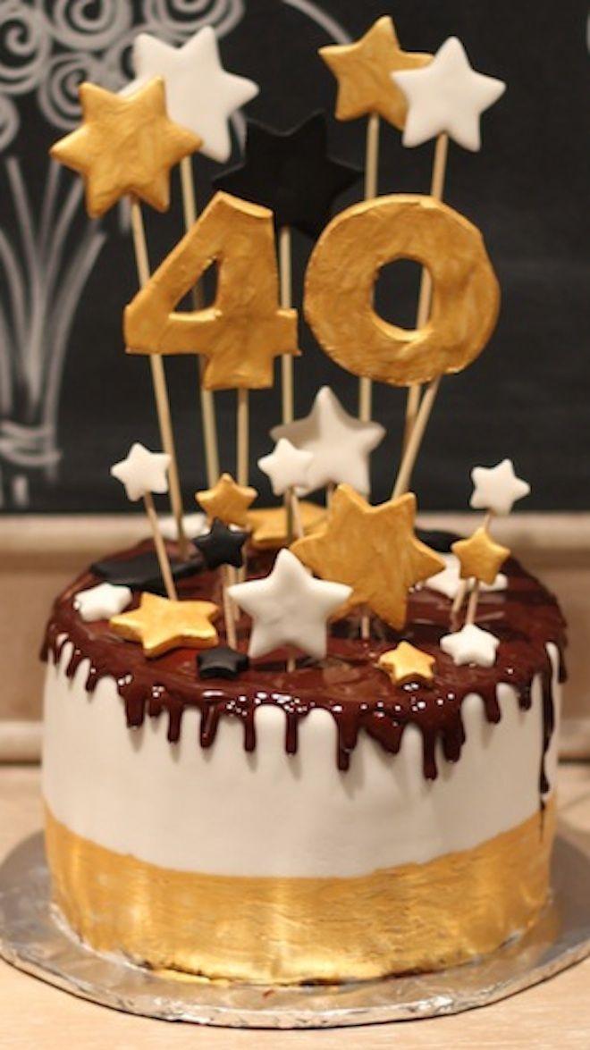 Geburtstagstorte 40  25 Best Ideas about Zum 40 Geburtstag on Pinterest