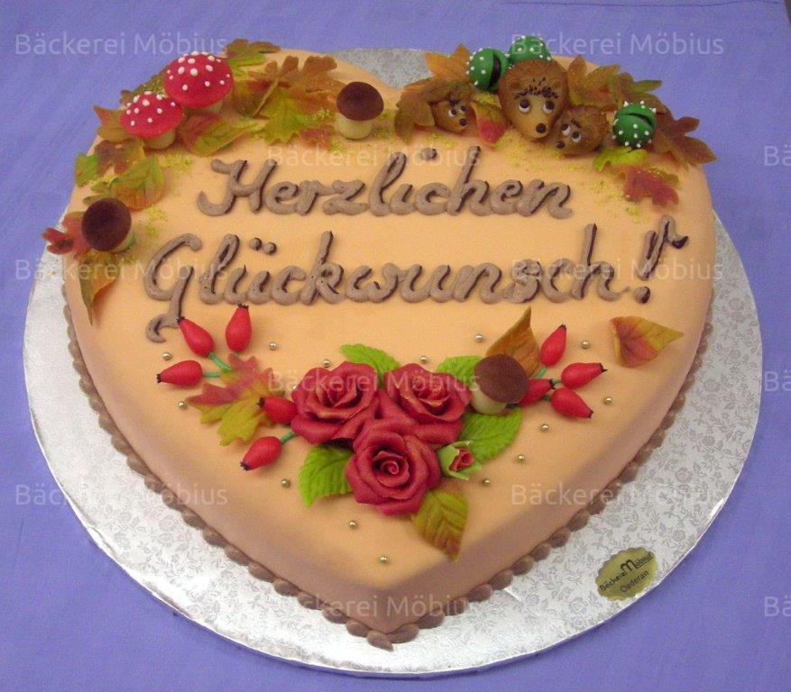 Geburtstagstorte 40  Bäckerei Möbius OHG Oederan Produkte