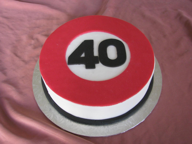 Geburtstagstorte 40  besondere Anlässe Konditorei und Cafe Maaß
