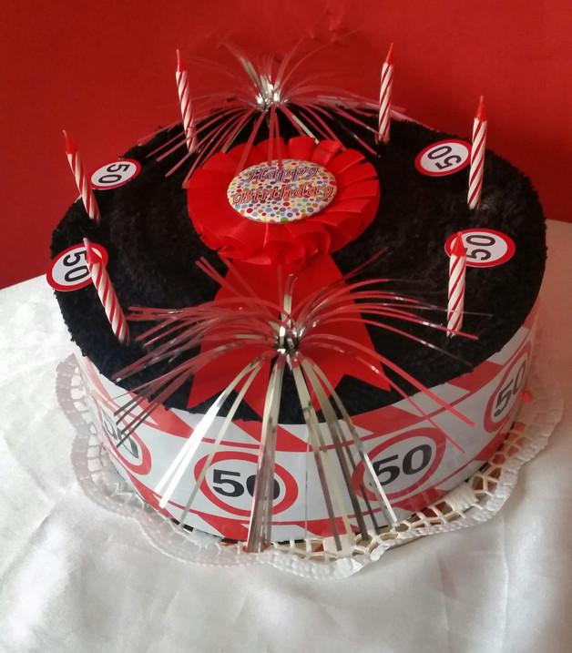 Geburtstagstorte 40  Geschenke für Frauen Handtuchtorte Geburtstagstorte