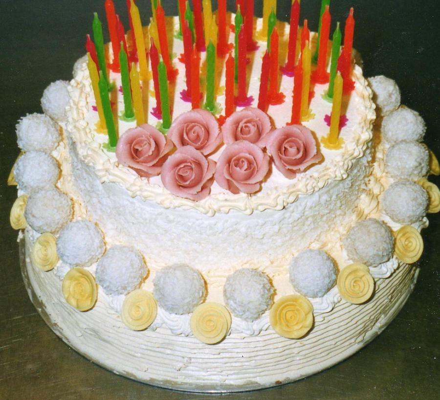 Geburtstagstorte 50 Geburtstag  Torten Lieferservice Buttercreme Torte online bestellen