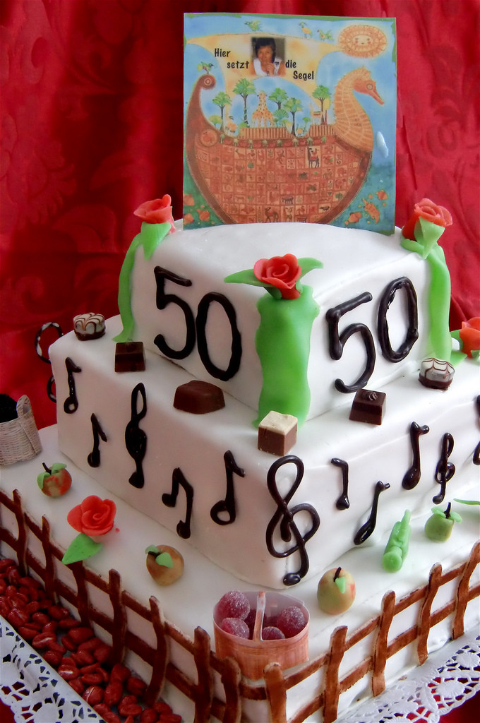 Geburtstagstorte 50 Geburtstag  Geburtstagstorte zum 50 Geburtstag