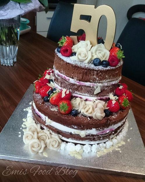 Geburtstagstorte 50 Geburtstag  Rocher Torte 🍰 Emi´s Food Blog