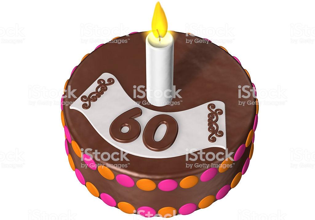 Geburtstagstorte 60  Geburtstagstorte 60 Stock Fotografie und mehr Bilder von
